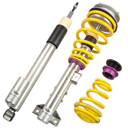 C7 KW Coilover Kit V3 Chev Corvette w/o Elec Shock Control Coilover Kit incl. Leaf Spring Removal