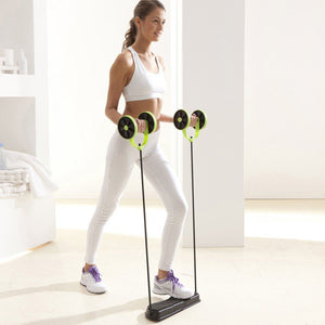 Double AB Roller Exercise Equipment