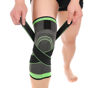 3D Weaving Protective Sports Pressurization Knee Brace