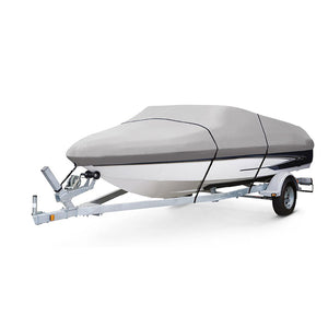 Polyester Taffeta Heavy Duty Trailer-able Boat Cover