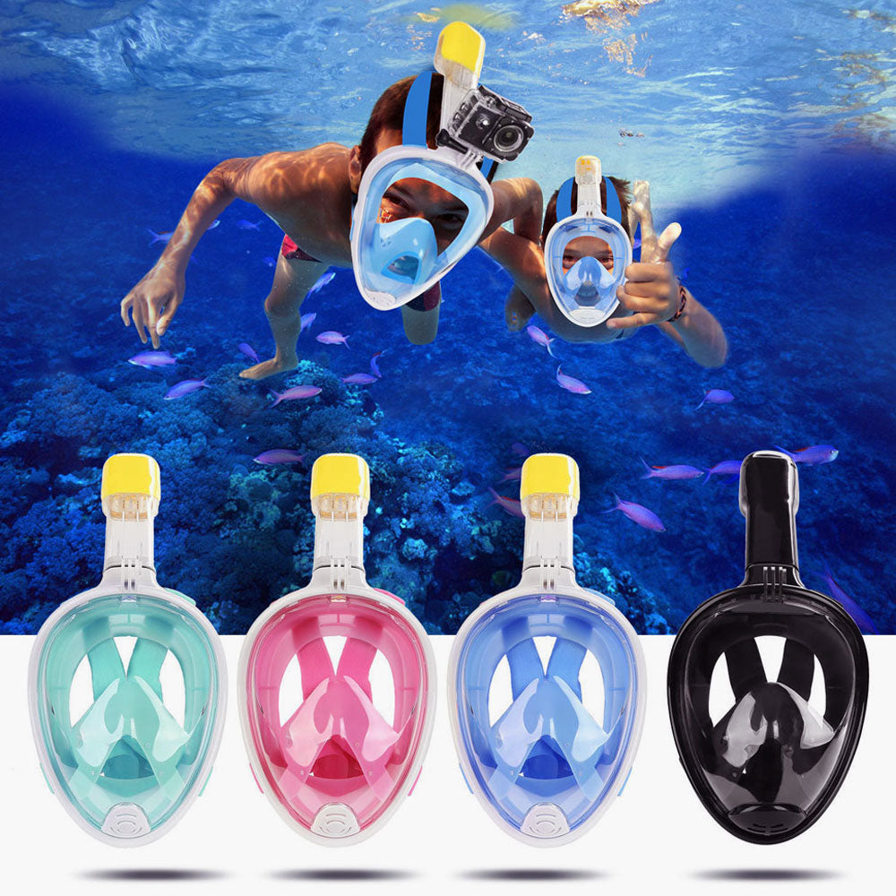 Full Face Snorkeling Mask Set