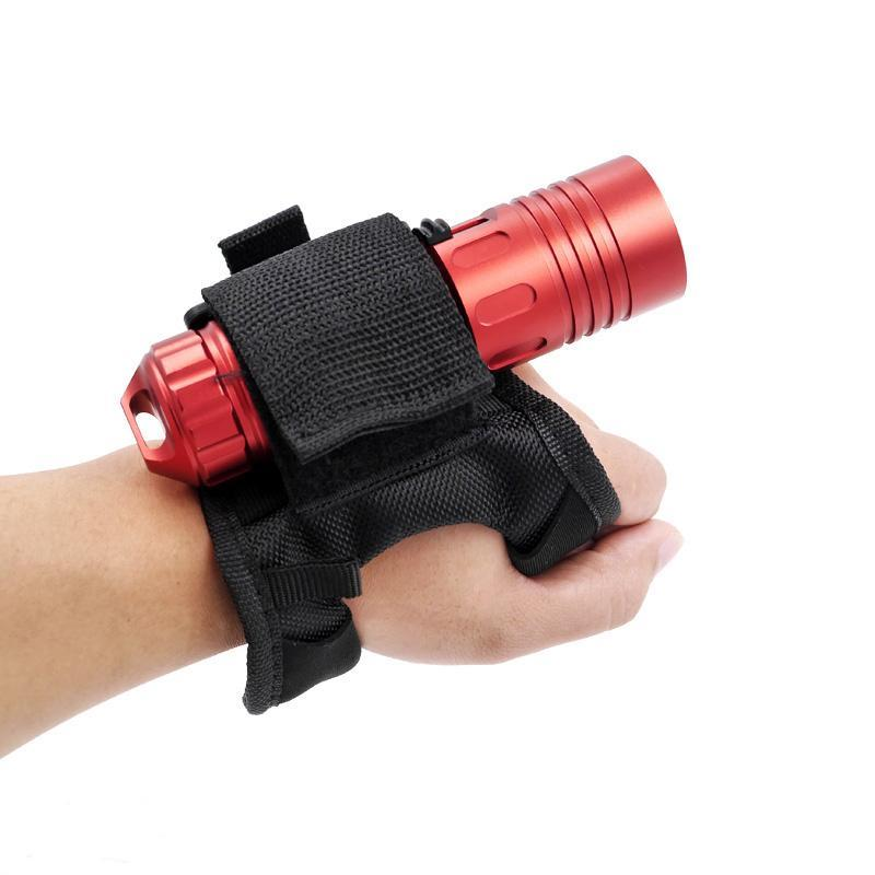 Hands Free Underwater Adjustable Light Holder for Scuba Diving