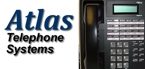 Atlas telephone system sales and installation. Shasta County California