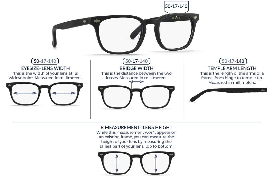 cc104be4b30 Prescription Glasses Size Guide – SALT CITY OPTICS