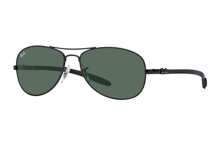 Ray-ban RB8301 Carbon Fibre 59mm Prescription Sunglasses