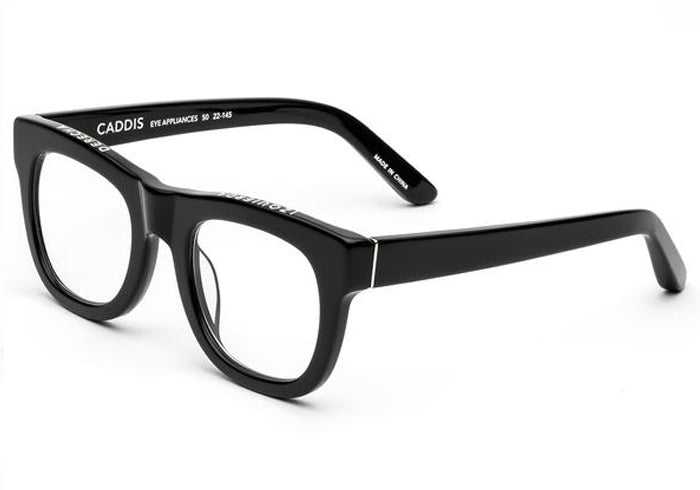 Caddis D28 Polished Black Prescription Glasses