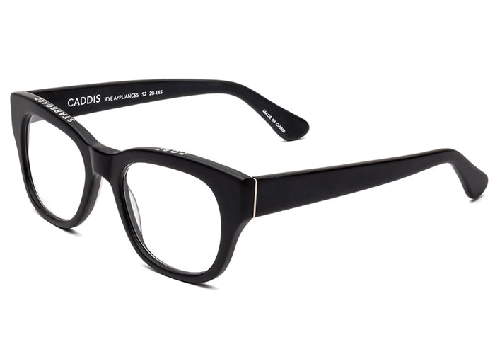 Caddis Miklos Matte Black Prescription Glasses