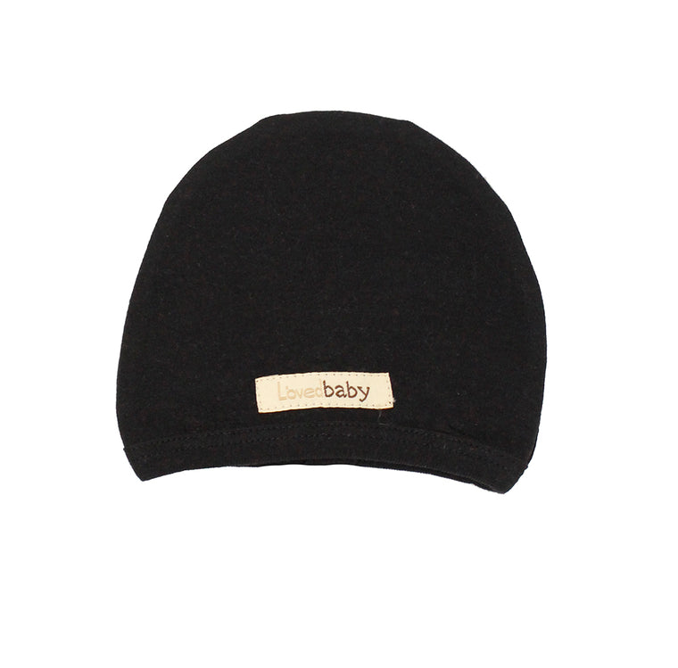 Black Organic Cute Cap