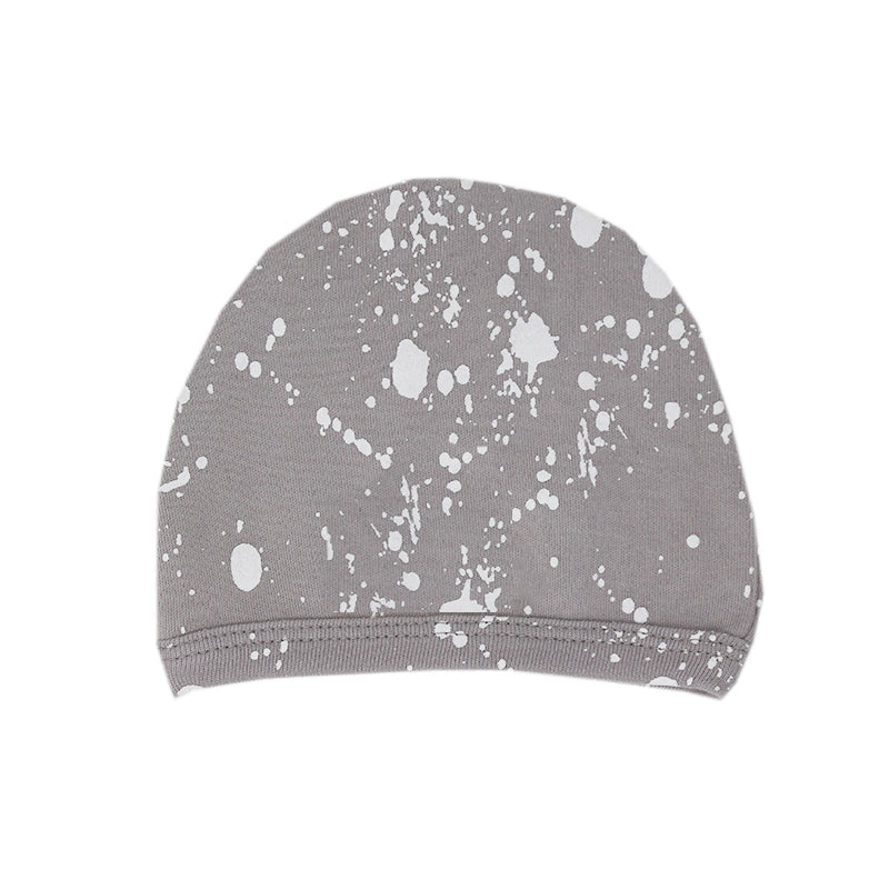 Light Gray Splatter Cap