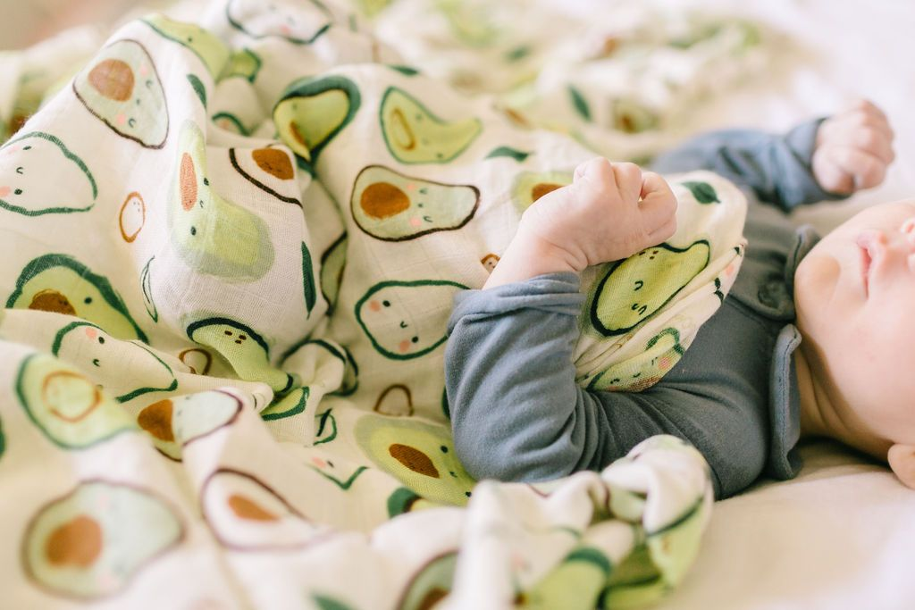 Avocado Muslin Swaddle