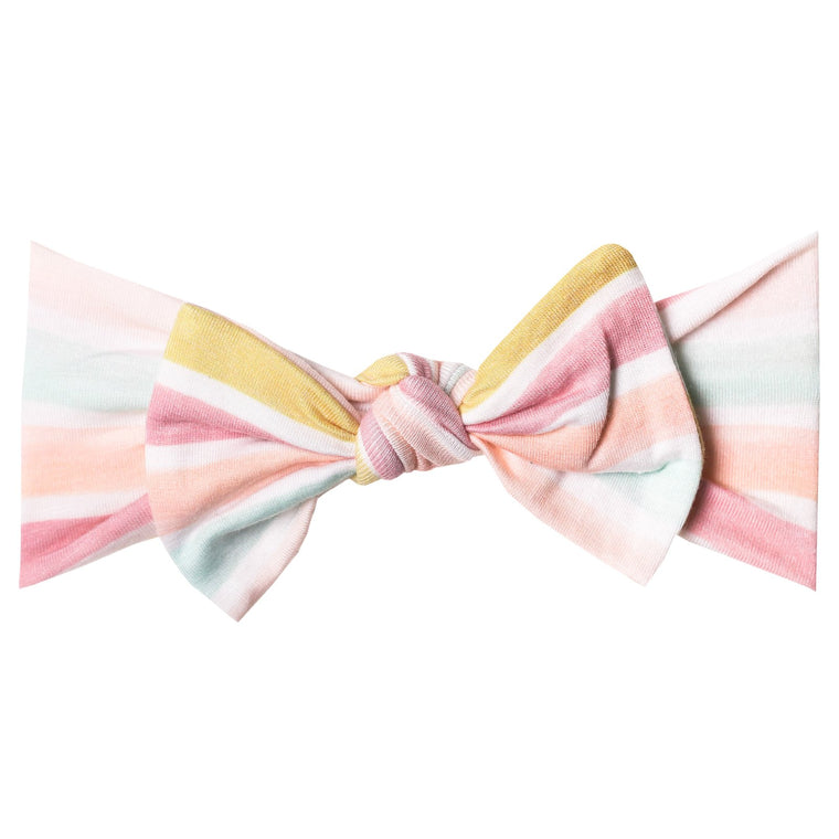 Belle Knit Headband Bow