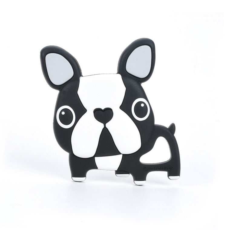 Boston Terrier Silicone Teether - Single