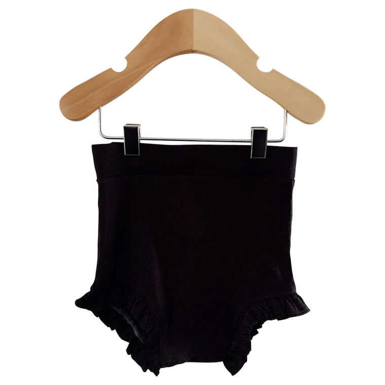 Black Ruffle Bloomer