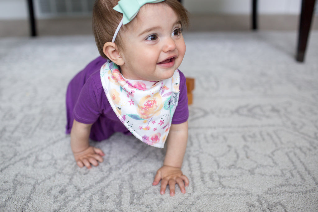 Bloom Bandana Bib Set