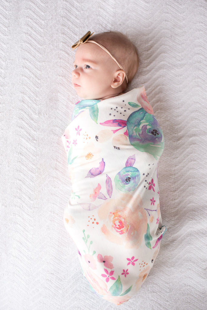 Bloom Knit Swaddle