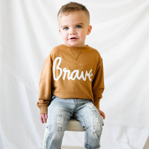 Brave French Terry Pullover