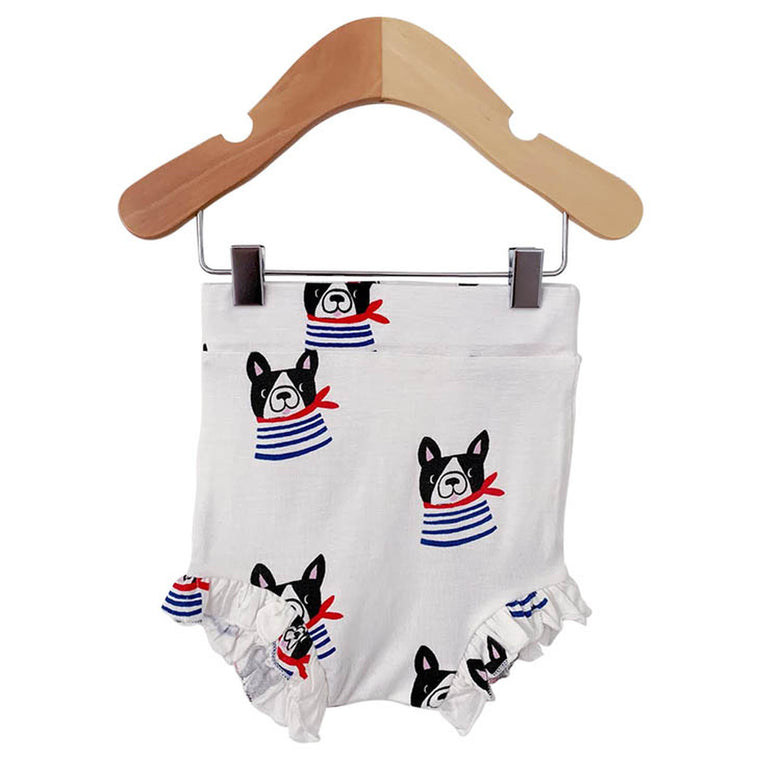 Frenchie the Dog Ruffle Bloomer