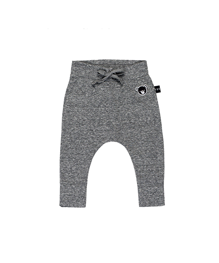 Charcoal Drop Crotch Pant