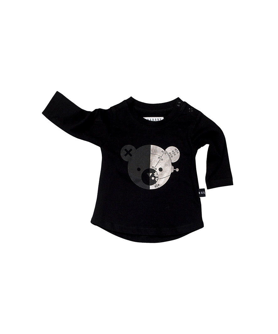 Robo Bear Long Sleeve Top