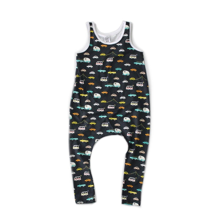 Happy Camper Romper