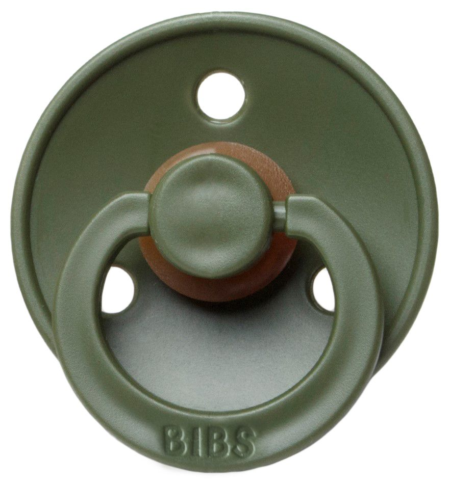 BIBS Natural Rubber Pacifier - Hunter/Sage 2-Pack