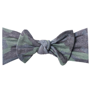 Hunter Knit Headband Bow