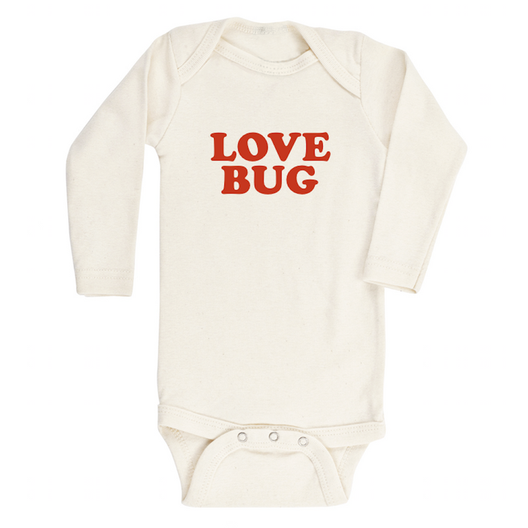 Love Bug Organic Long Sleeve Bodysuit