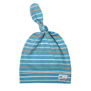 Milo Newborn Top Knot Hat