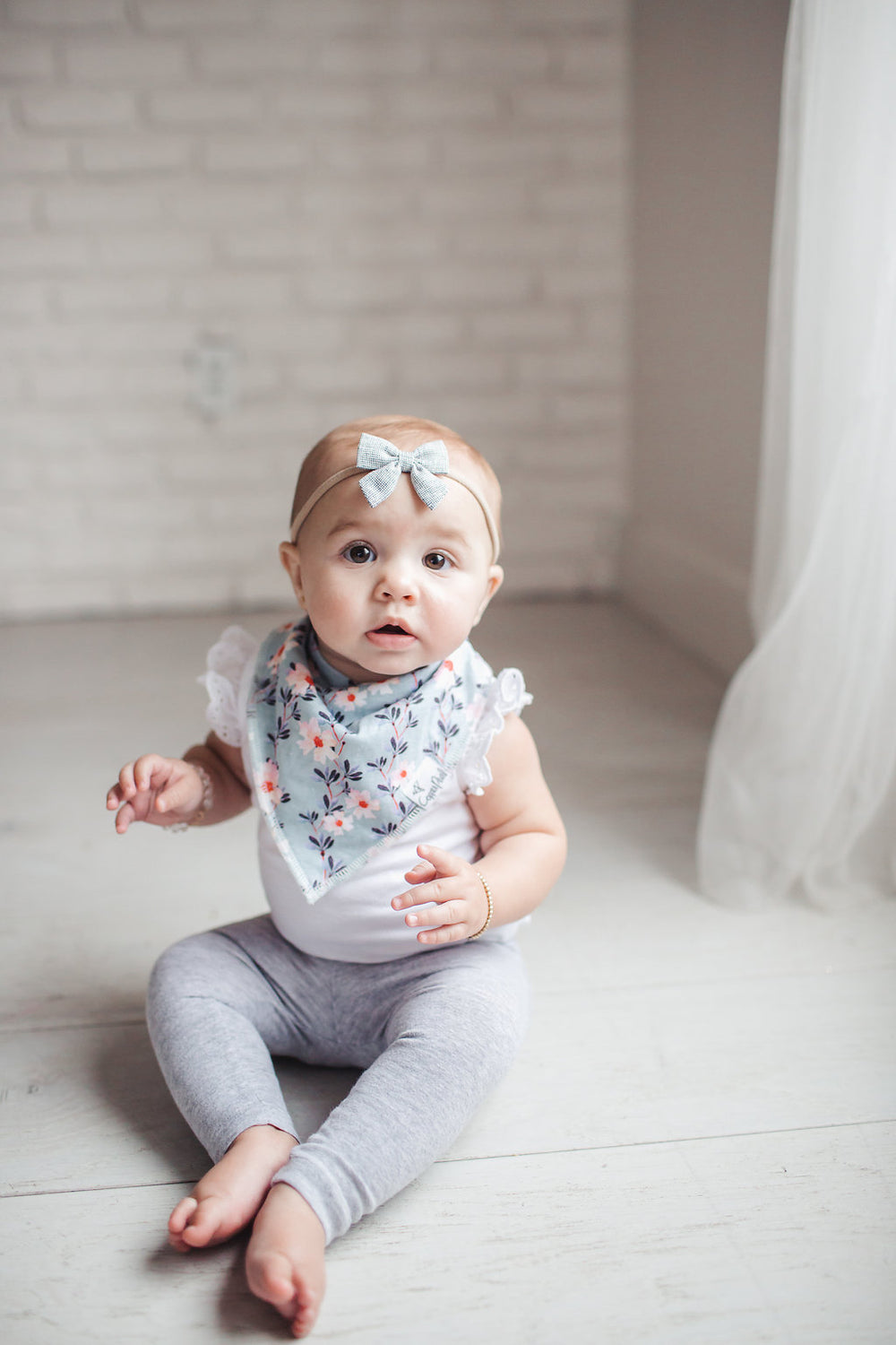 Morgan Bandana Bib Set