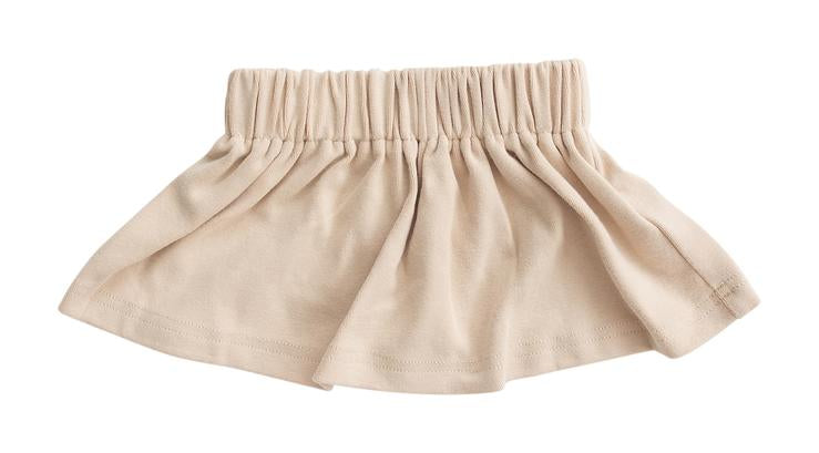 Oat Cotton Skirt