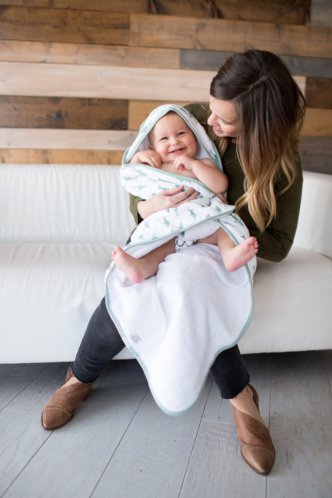 Pacific Muslin Hooded Towel