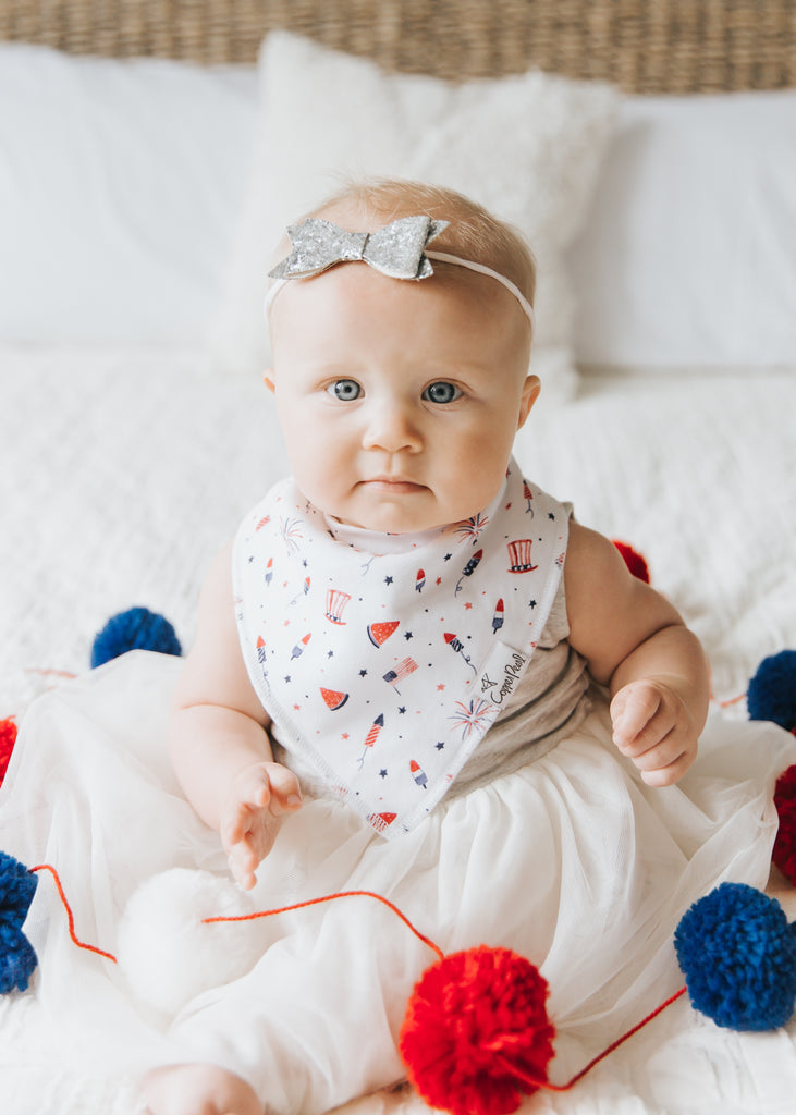 Patriot Bandana Bib Set