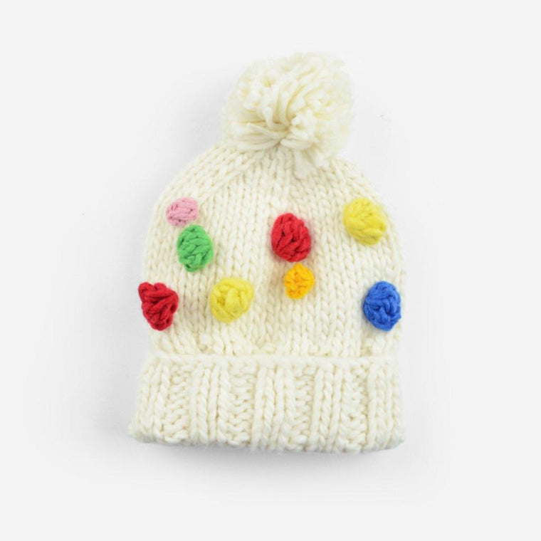 Percy Rainbow Dot Beanie