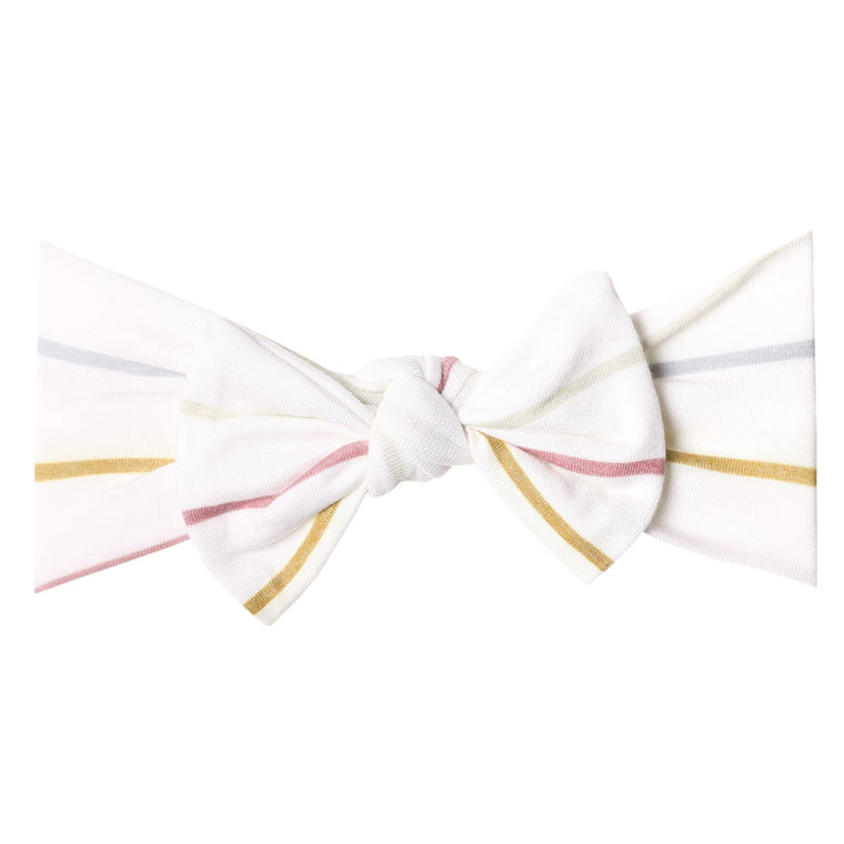 Piper Knit Headband Bow