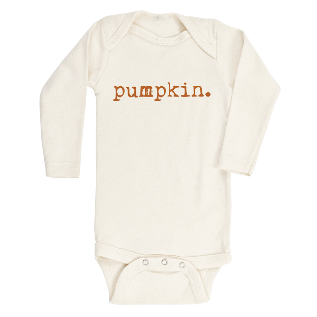 Pumpkin Organic Long Sleeve Bodysuit