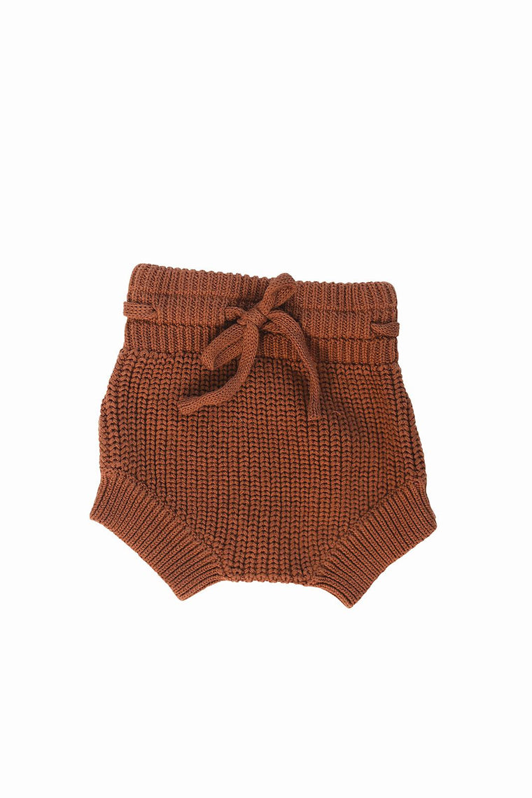 Rust Knit Bloomers