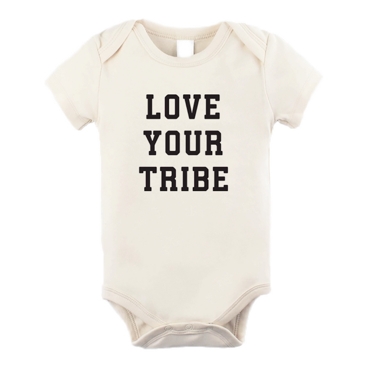 Love Your Tribe Organic Bodysuit