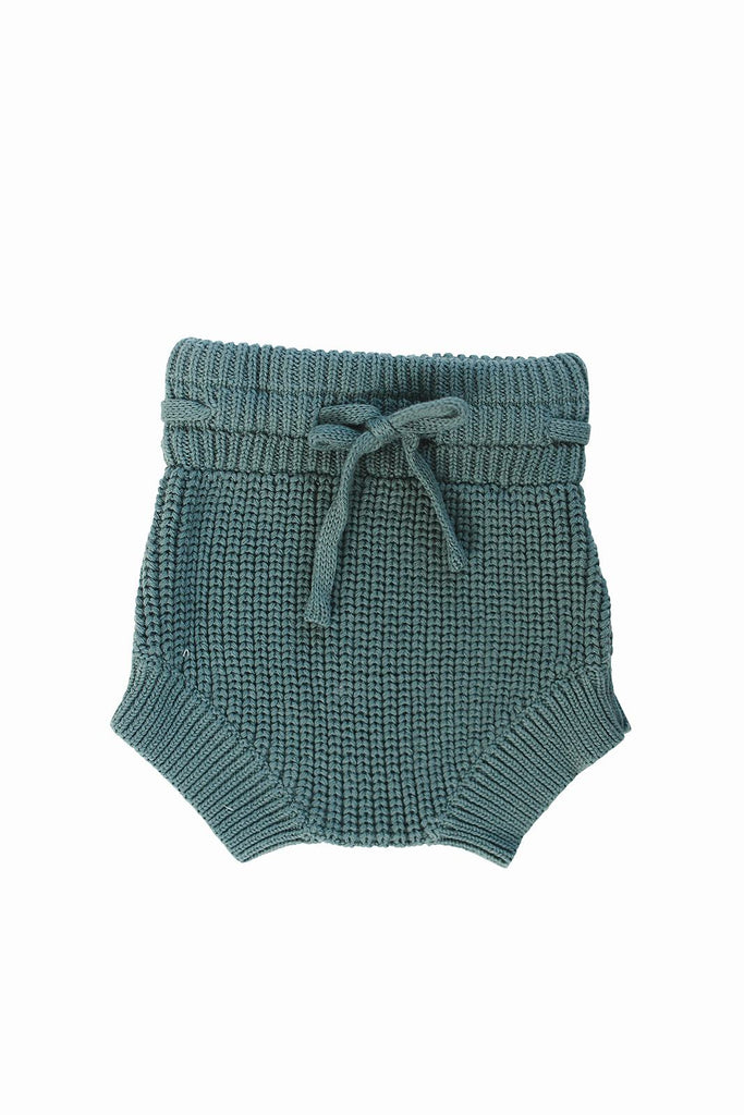 Teal Knit Bloomers
