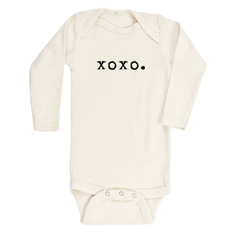 XOXO Organic Long Sleeve Bodysuit