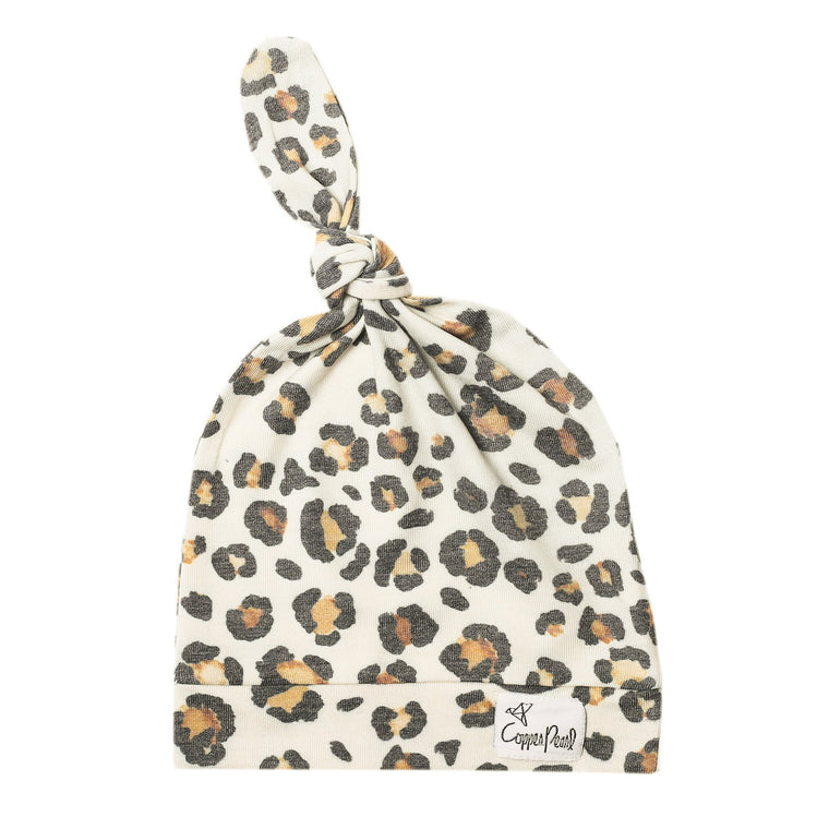 Zara Newborn Top Knot Hat