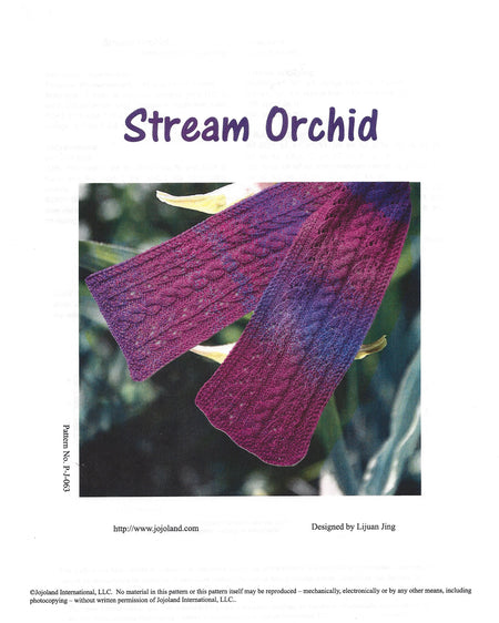 Stream Orchid Pattern