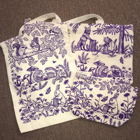 Woodland Bag Set