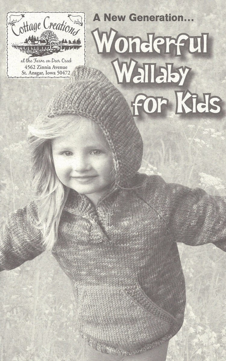 Kids Wonderful Wallaby Pullover Pattern