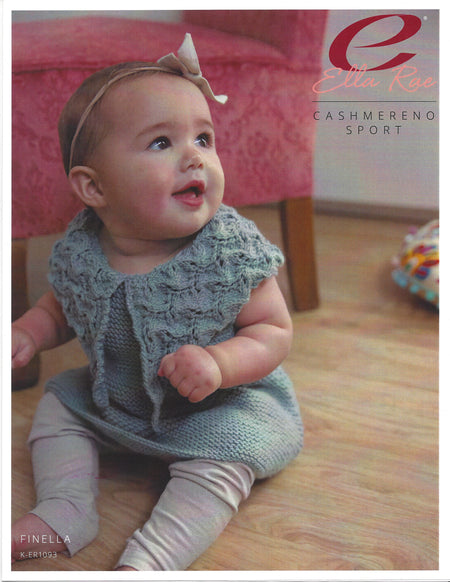 Finella Baby Dress Pattern K-ER1093