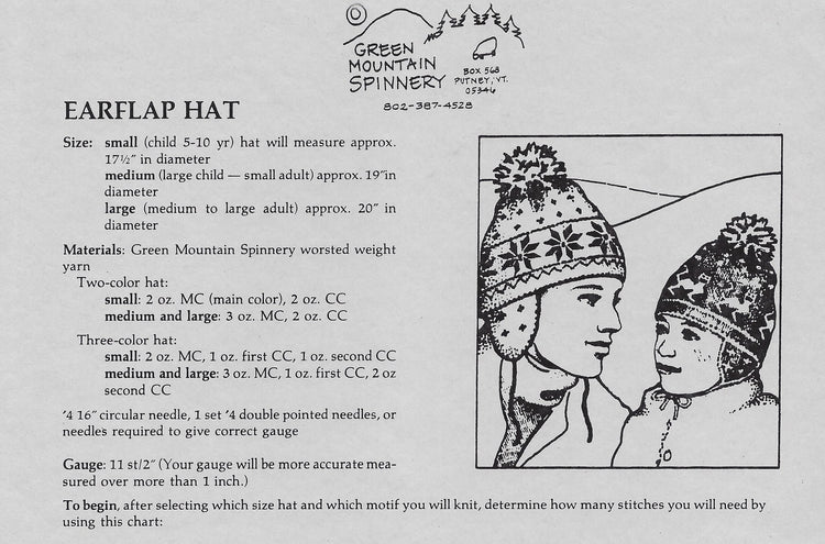 Earflap Hat Pattern #15