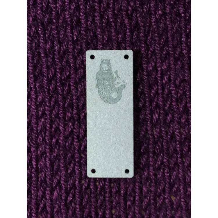 Mother of Purl Mermaid Foldover Tag