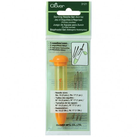 Chibi Darning Needles Bent Tip 3121