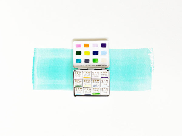 Case for Making Watercolors