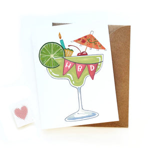 Margarita Birthday Card