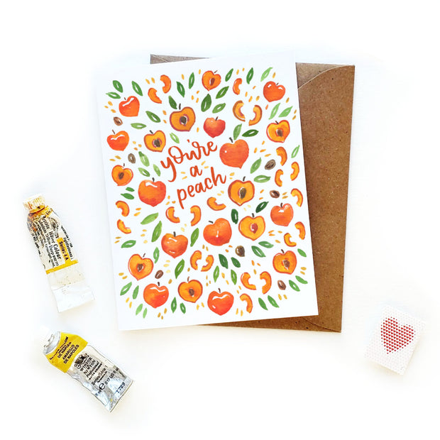 You're a Peach Card 1